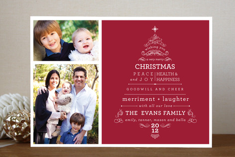 A Very Merry Christmas Christmas Photo Cards