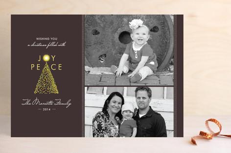 Tree of Joy Christmas Photo Cards