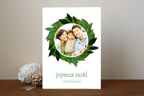 The Greens Christmas Photo Cards