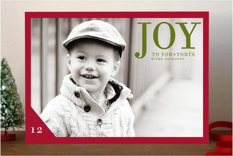 Float + Joy to You Christmas Photo Cards