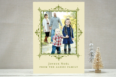 Joyeux Noel Christmas Photo Cards