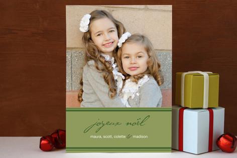 PARIS Christmas Photo Cards