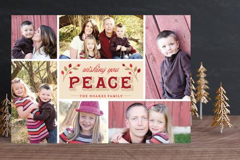 Joyous Noel Christmas Photo Cards