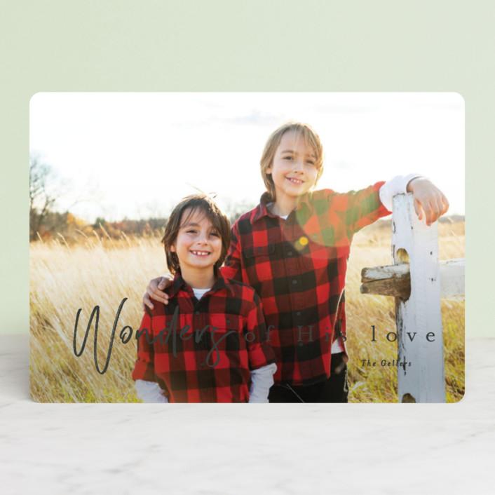 """canoli"" - Christmas Photo Cards in Cloud by chocomocacino."