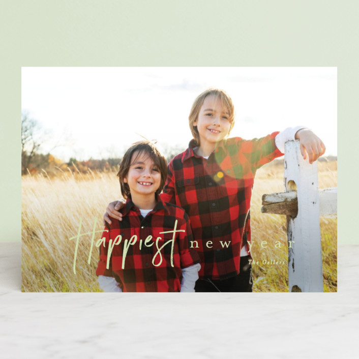"""canoli"" - Christmas Photo Cards in Cloud by chocomocacino."