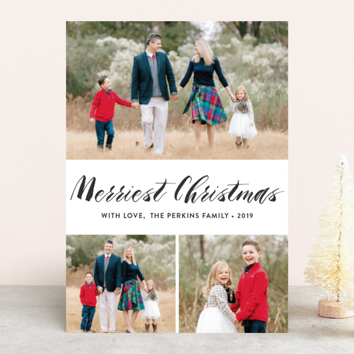 """Heaven&Nature"" - Christmas Photo Cards in Snow by Chasity Smith."