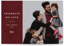 Celebrate His Love by Basil Design Studio