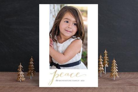 Simply Radiant Christmas Photo Cards