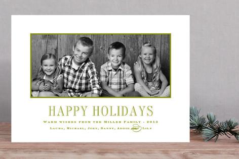 Engravers Christmas Photo Cards