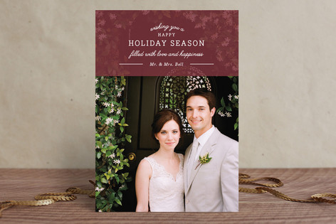 Dream Come True Christmas Photo Cards