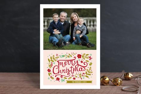 Jardin de Noel Christmas Photo Cards