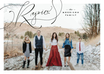 Again I Say Rejoice Christmas Photo Cards By Lindsay Stetson Thompson
