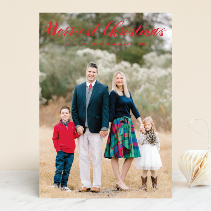 """""""Heaven&Nature"""" - Christmas Photo Cards in Medallion by Chasity Smith."""