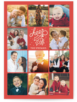 Boxes Full Of Cheer Christmas Photo Cards