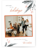 This is a orange photo christmas card by Robin Ott called sweet home with standard printing on smooth signature in standard.