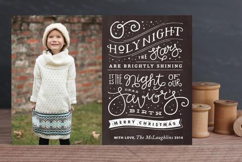 Brightly Shining Christmas Photo Cards