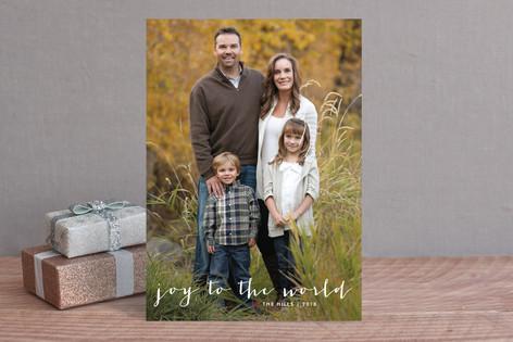 Simple Joy Christmas Photo Cards