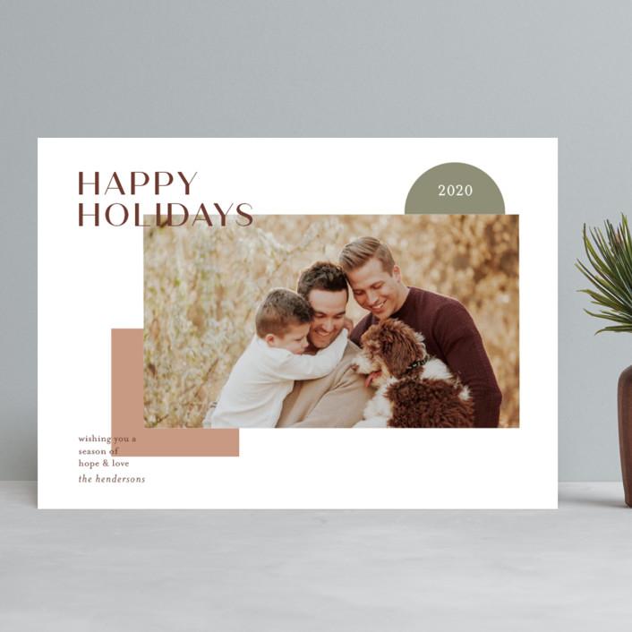 """winter sunrise"" - Christmas Photo Cards in Almond by Aspacia Kusulas."