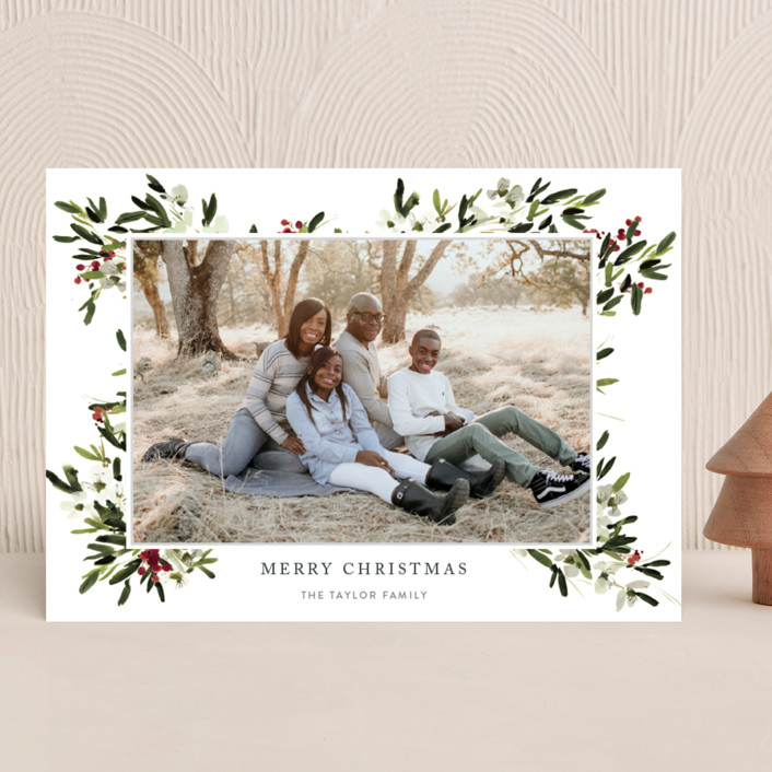 """""""winter bliss"""" - Christmas Photo Cards in Snow by Kelly Ventura."""