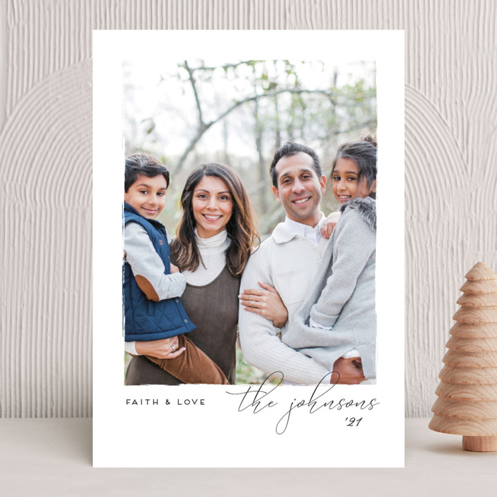 """""""Notable"""" - Christmas Photo Cards in Snow by Snow and Ivy."""