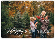 This is a white photo christmas card by Jennifer Wick called All In with standard printing on smooth signature in standard.