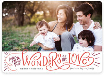 Wonder of His Love Script
