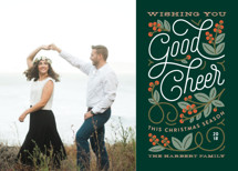 Winterberry Christmas Photo Cards By Genna Cowsert