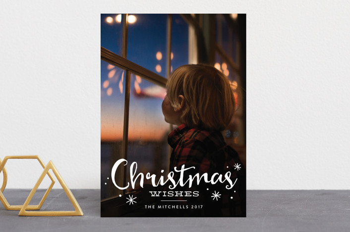 """of his love"" - Christmas Photo Cards in Cloud by Erin Deegan."