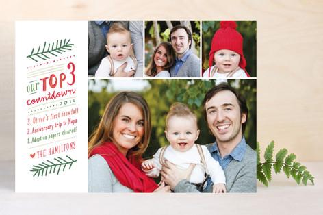 Countdown List Christmas Photo Cards