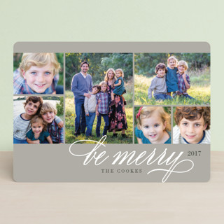 Photo Block Christmas Photo Cards