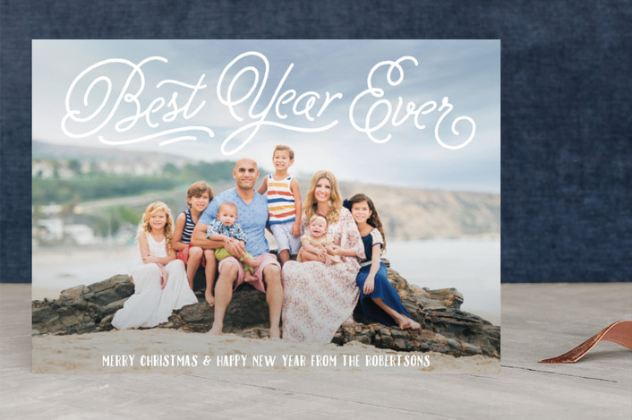 """""""Great Glory"""" - Christmas Photo Cards in White by Jessie Steury."""