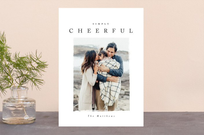"""""""pignolo"""" - Christmas Photo Cards in Coal by chocomocacino."""