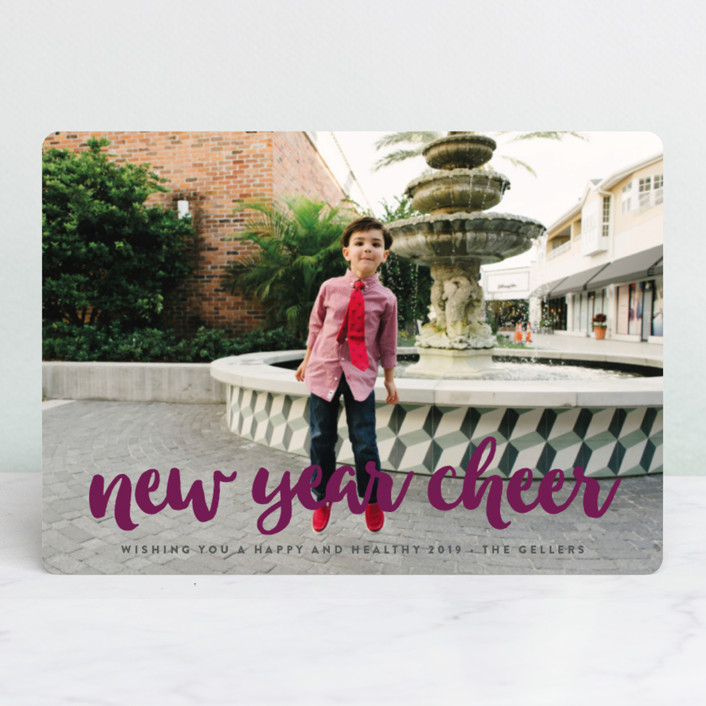 """what fun!"" - Christmas Photo Cards in Frosting by Molly Wiggins."