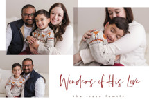 Wonder Collage Christmas Photo Cards By Pixel and Hank