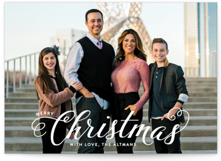 Blessed Christmas Christmas Photo Cards