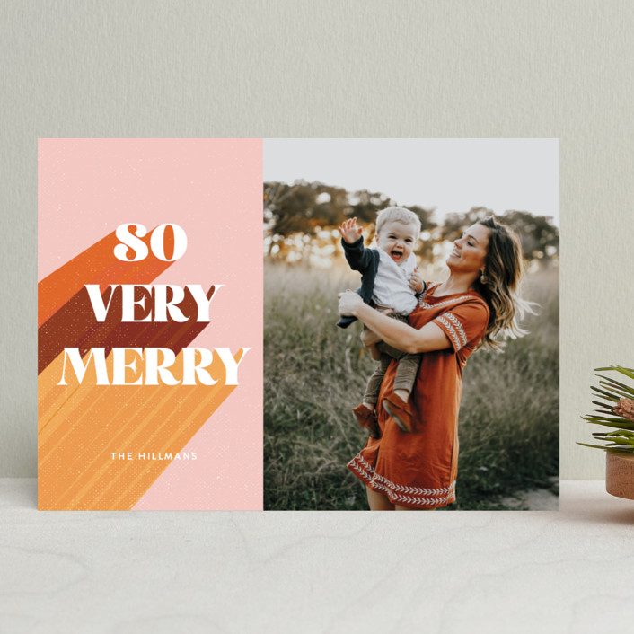 Spotlight holiday card