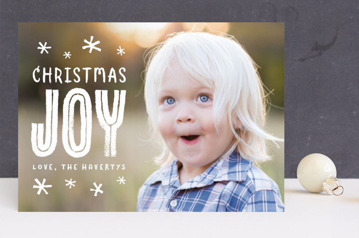 """""""festive + fun"""" - Funny Christmas Photo Cards in Snowflake by Susan Asbill."""