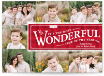 Time-Honored Christmas Photo Cards By cadence paige design