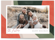 This is a orange photo christmas card by Pixel and Hank called All Color with standard printing on signature in standard.