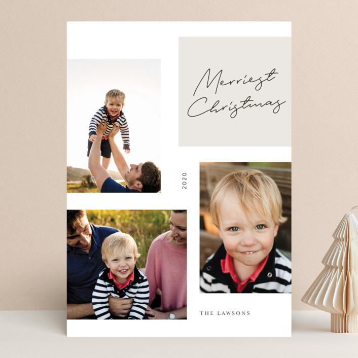 """macedonia"" - Christmas Photo Cards in Charcoal by chocomocacino."
