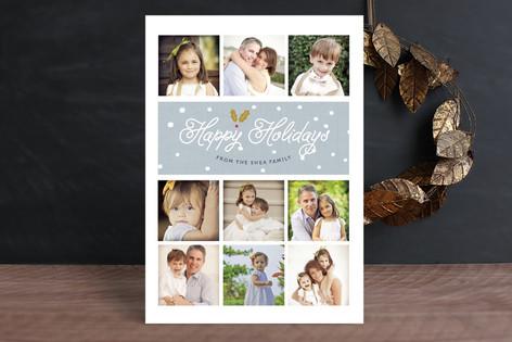 Snowdrop Christmas Photo Cards
