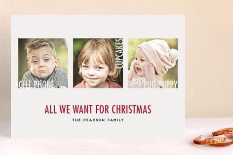 Dear Santa Christmas Photo Cards