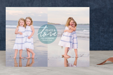 Love and Joy Christmas Photo Cards