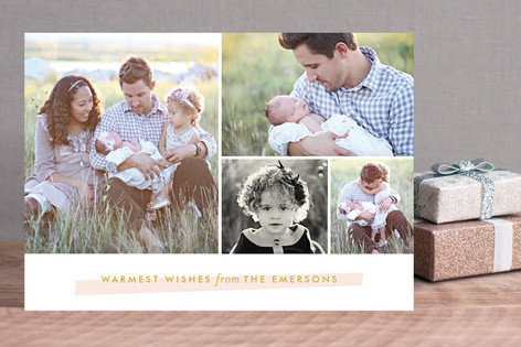 Holiday Highlight Christmas Photo Cards