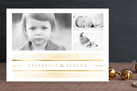 Celebrate the Season Christmas Photo Cards