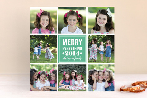 Insta Holiday Christmas Photo Cards