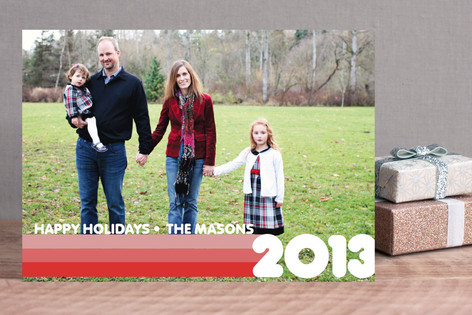 A Flashback Holiday Christmas Photo Cards