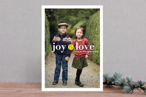 Little Joy Christmas Photo Cards