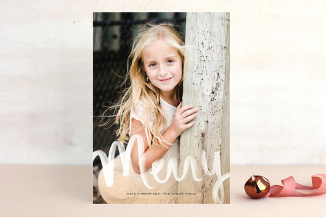 All Aglow Christmas Photo Cards