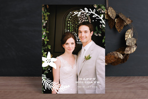 Holiday Overlay Christmas Photo Cards